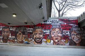 Soñadora muestra la cara inmigrante de Atlanta en murales creados para la SuperBowl