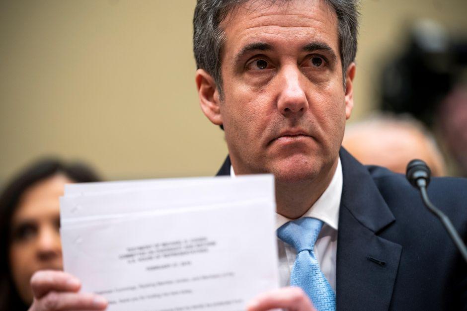 "Michael Cohen revela que fiscales federales investigan a Trump por un ""asunto secreto"""