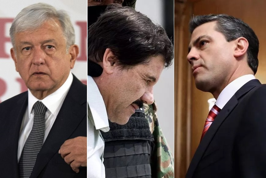 """Peña Nieto habría pedido a """"El Chapo"""" matar a AMLO"""