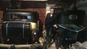 Encuentran colección de autos millonaria escondida en el granero de un artista pobre