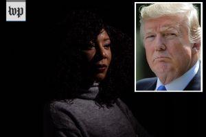 Exasistente de campaña de Trump lo acusa de besarla sin su consentimiento