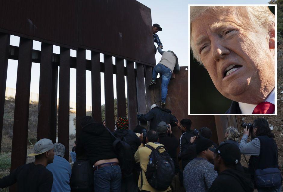 """México responde a Trump y defiende su """"postura distinta"""" sobre inmigración"""