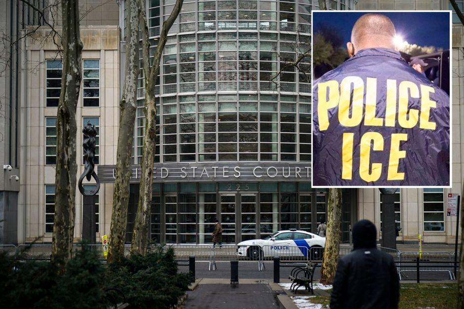"""Sujeto detenido por ICE en la Corte tras afirmar ser familiar de """"El Chapo"""" ya tenía orden de deportación"""