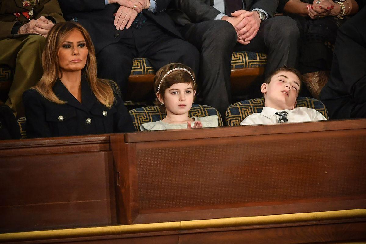 Joshua estuvo sentado cerca de la Primera Dama.