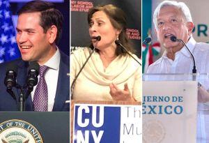 """Marco Rubio advierte peligro de relación entre México y EEUU porque AMLO """"apoya a Maduro"""""""