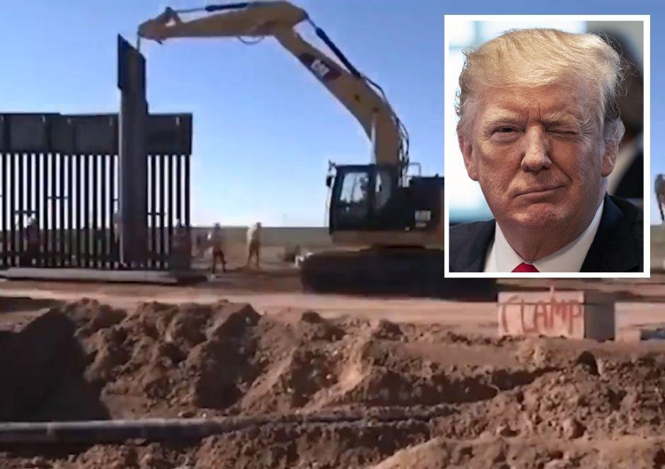 La presión de Trump por el muro desató un severo conflicto en el Departamento de Defensa