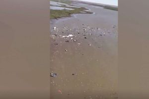 Dos cadáveres entre los restos del avión de carga de Amazon Prime estrellado en Texas