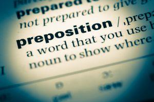 Letras: Las preposiciones: viejas, conversas y nuevas