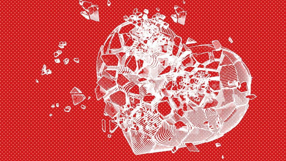 """Qué es el """"síndrome del corazón roto"""" y por qué nuestro cerebro puede ser el responsable"""