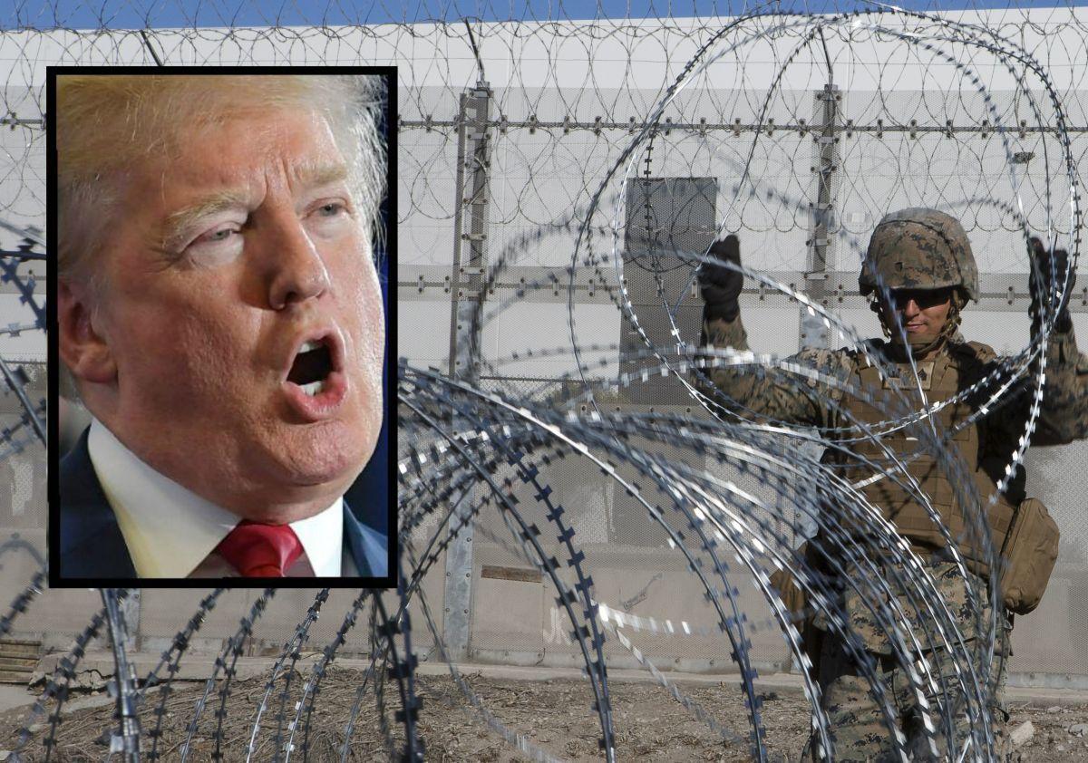 Trump asegura que México no hace nada por detener a los inmigrantes que llegan a EEUU