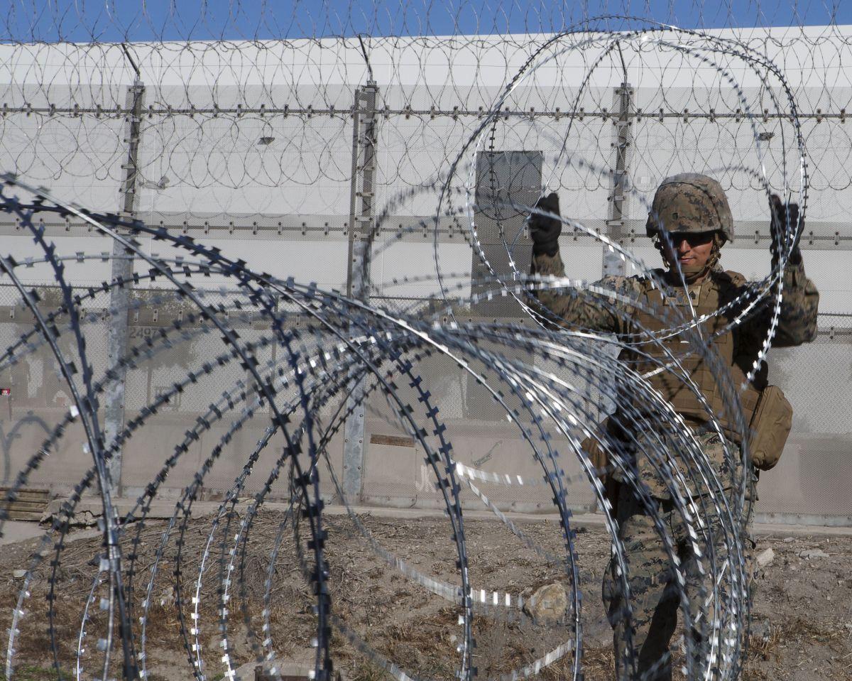 Estados Unidos alojará niños inmigrantes en bases militares