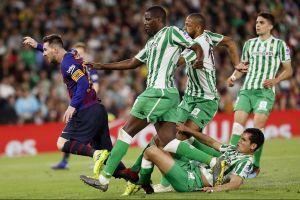 VIRAL: 'Messi contra el Betis', la imagen que un ilustrador soñó seis años antes