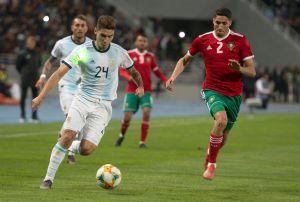 Sin Messi, Argentina vuelve a dar pena en Marruecos con un pobre triunfo de 1-0