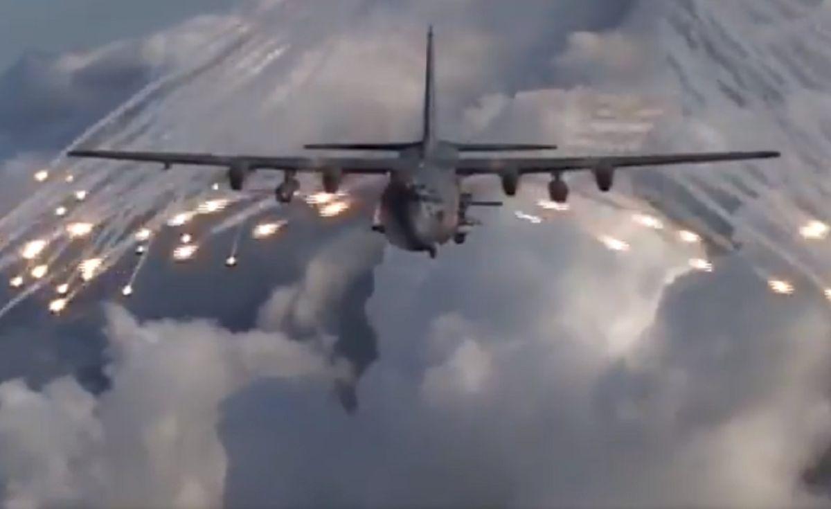 Estados Unidos presume en video su poderoso e histórico avión cañonero