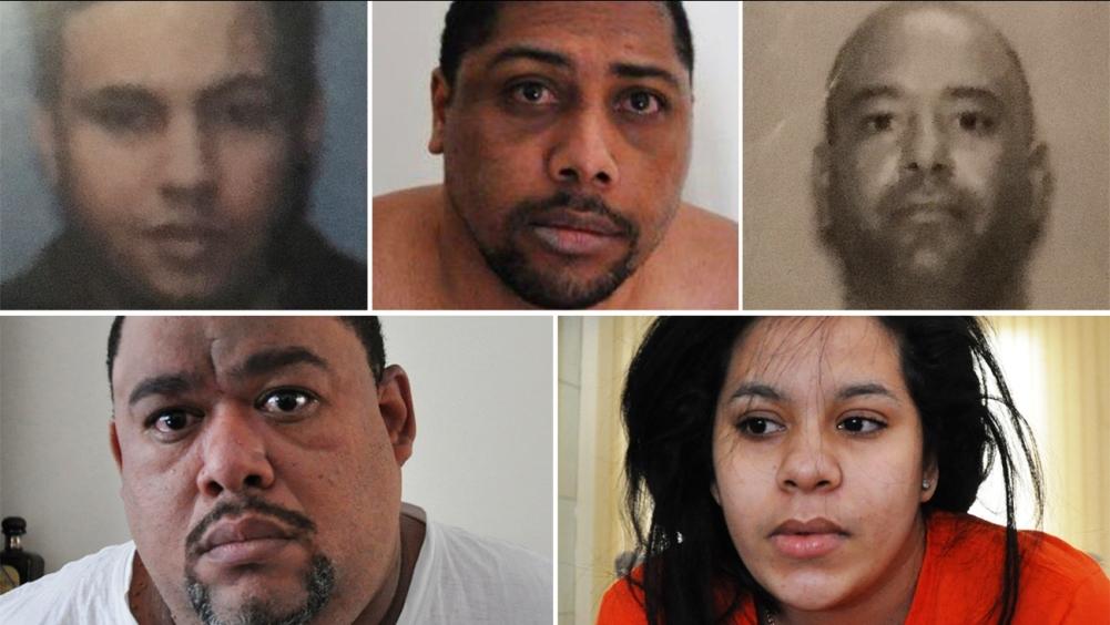 Cinco hispanos detenidos con droga suficiente para matar a millones de personas