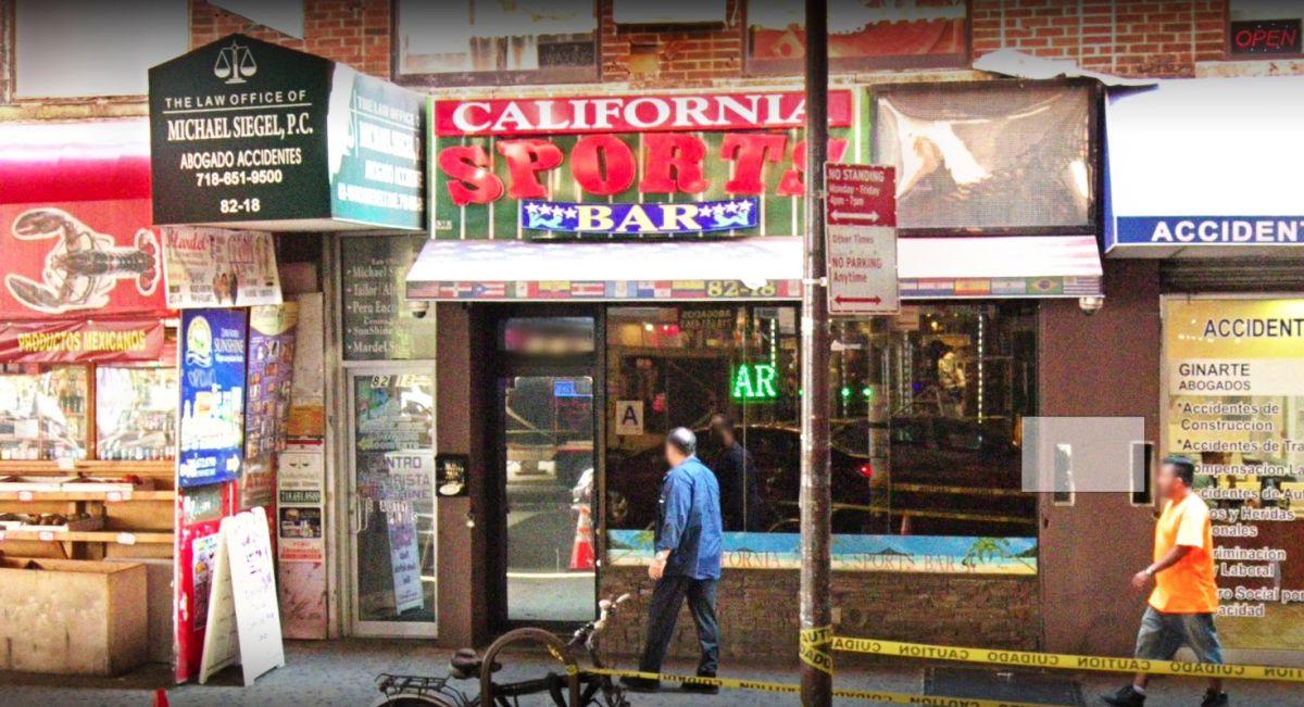 Portero pierde un dedo por mordisco de cliente furioso en bar de Queens