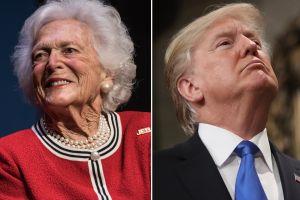 Bárbara Bush desata polémica por su opinión sobre Trump... e hizo una fuerte revelación