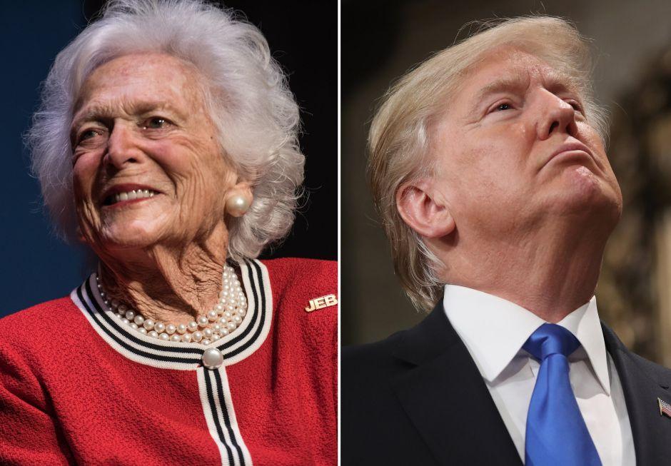 Bárbara Bush desata polémica por su opinión sobre Trump… e hizo una fuerte revelación