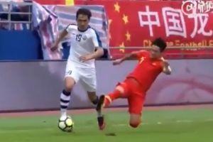 Jugador chino fractura a un rival, su propio club lo suspende y evalúa su despido