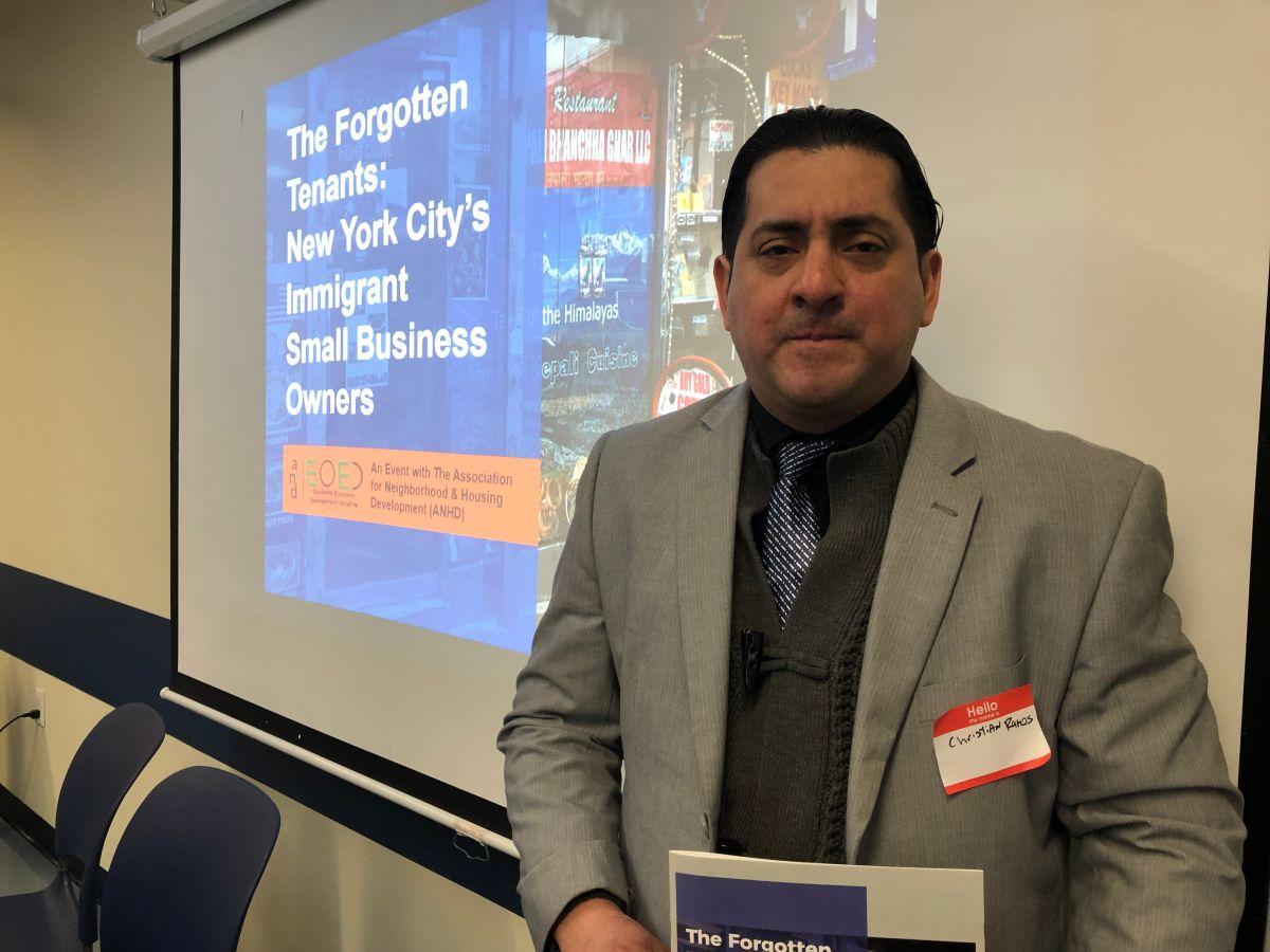 Alquiler, acceso a capital y status preocupan a negociantes inmigrantes de NYC