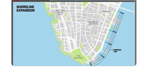 """Alcalde De Blasio quiere """"aumentar"""" el tamaño de Nueva York para protegerla de huracanes"""