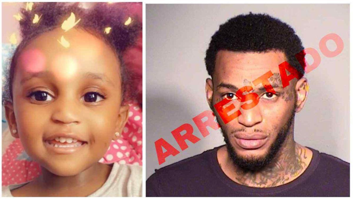 Arrestado por asesinar a la madre de su hija de dos años, pero la pequeña continúa desaparecida