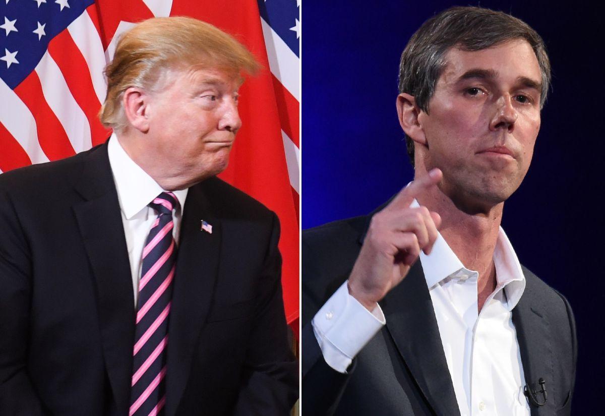Trump se burla del aspirante presidencial Beto O'Rourke