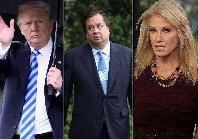¿Kellyanne Conway es más leal a Trump que a su esposo George?