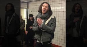 Concierto sorpresa en el metro de Nueva York
