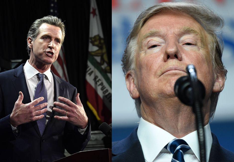 """Newsom le manda un """"derechazo"""" a Trump. Perdona a dos inmigrantes camino a la deportación"""