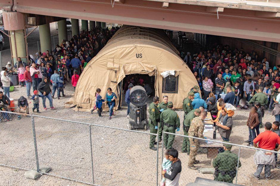 """Patrulla Fronteriza lanza alerta: la frontera está en su """"punto más crítico"""""""