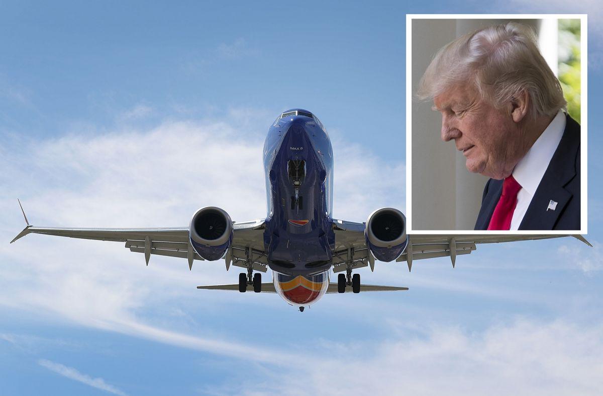 Trump ordena suspender vuelos de Boeing 737 como el que se estrelló en Etiopía