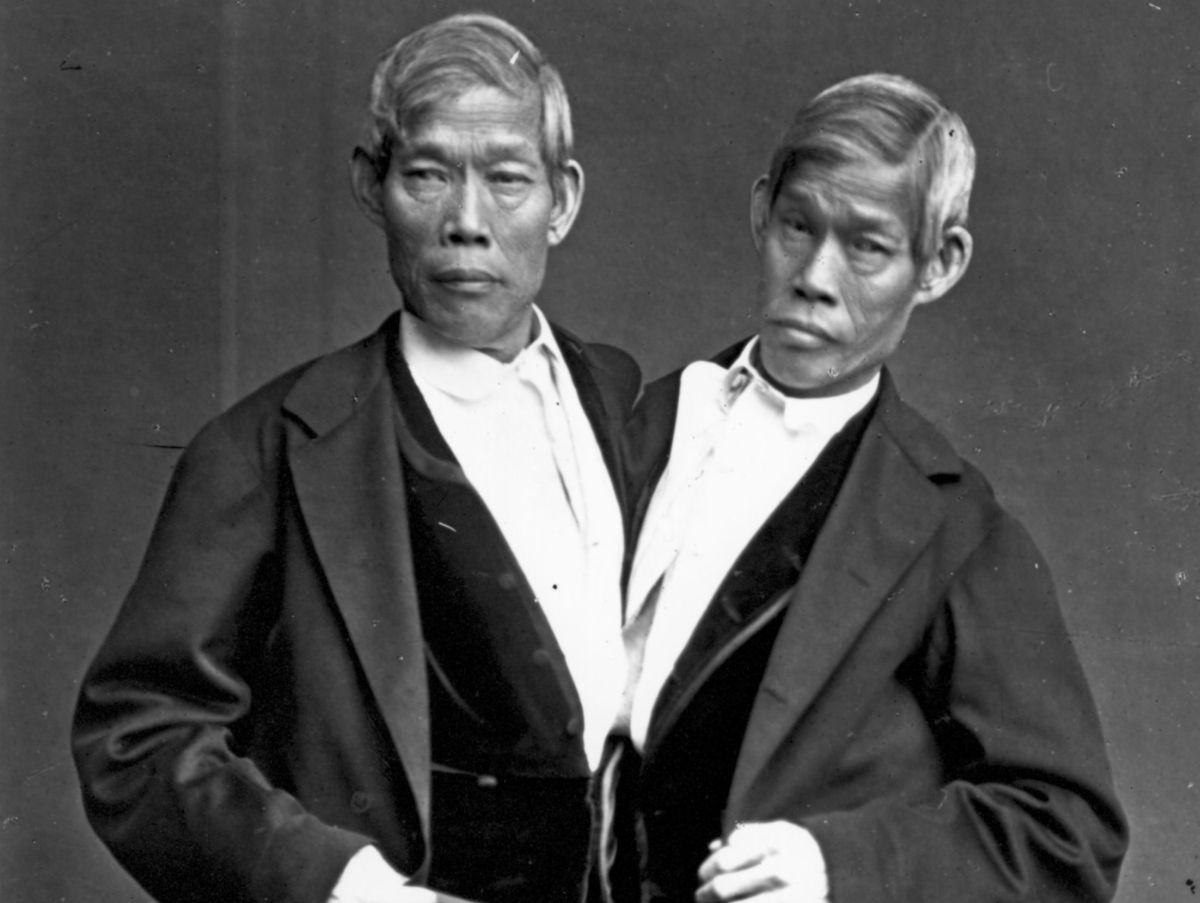 """Los hermanos siameses """"originales"""": propietarios de esclavos y padres de 21 hijos"""