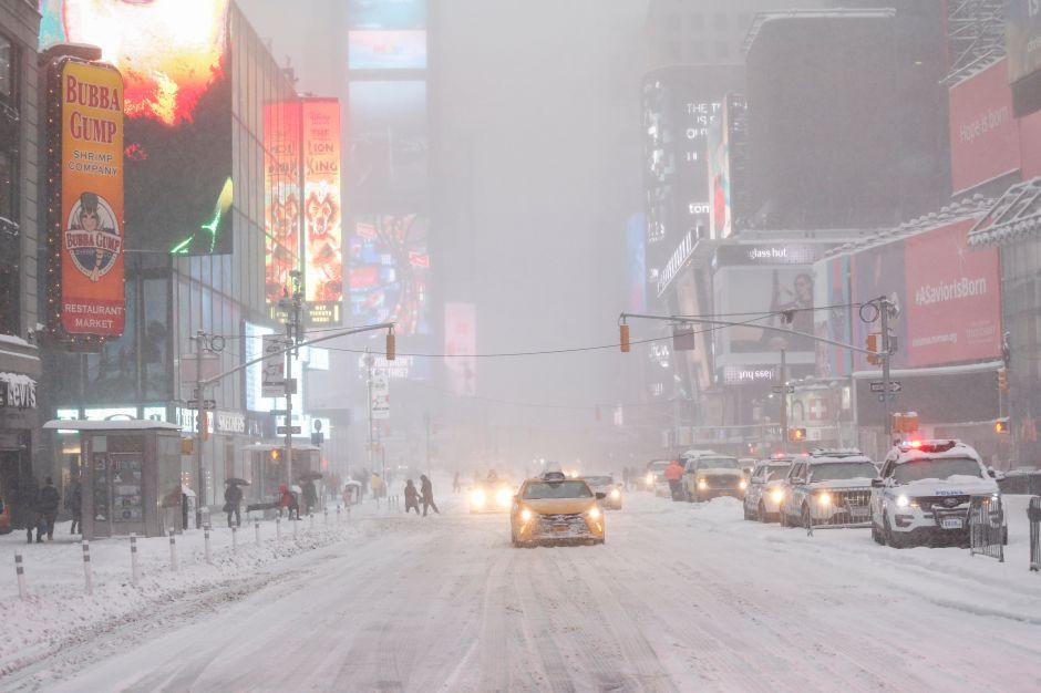 ¿Cuándo caerá la primera nevada en ciudades de Nueva York y Nueva Jersey?