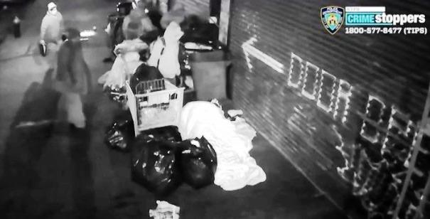Indigente en coma tras golpiza brutal de pandilleros en Brooklyn
