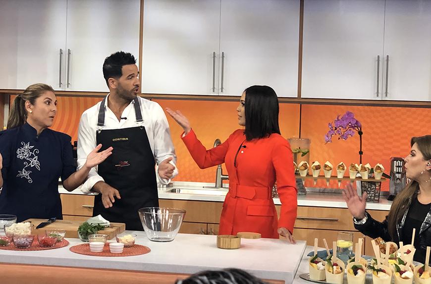 Chef Lorena y Chef Yisus
