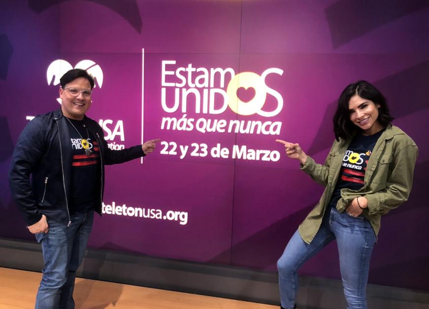 Todo listo para Teletón USA: Alejandra Espinoza y Raúl González te dan un adelanto