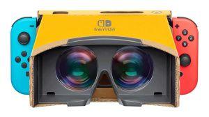Nintendo lanzará lentes de realidad virtual hechos de cartón