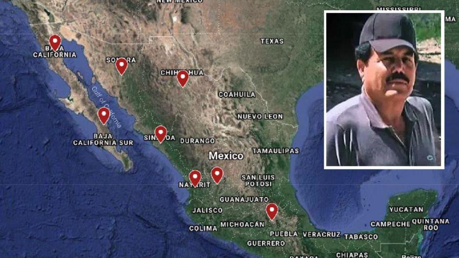 """El CJNG de """"El Mencho"""" avanza en México, pero el Cártel de Sinaloa del """"Mayo"""" Zambada tiene mucho poder"""