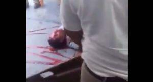 Supuestos pandilleros de la Mara Salvatrucha o MS-13 asesinan a comensales en restaurante de Chiapas, México