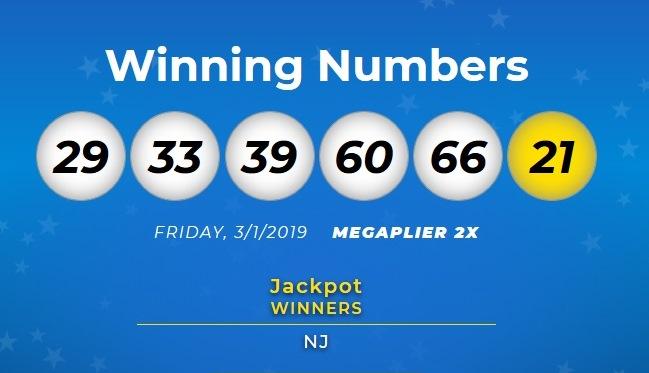 Hay un ganador de $267 millones de la Mega en Nueva Jersey
