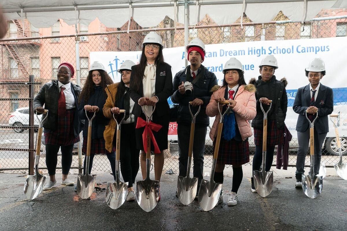 The American Dream School inicia nueva construcción en El Bronx