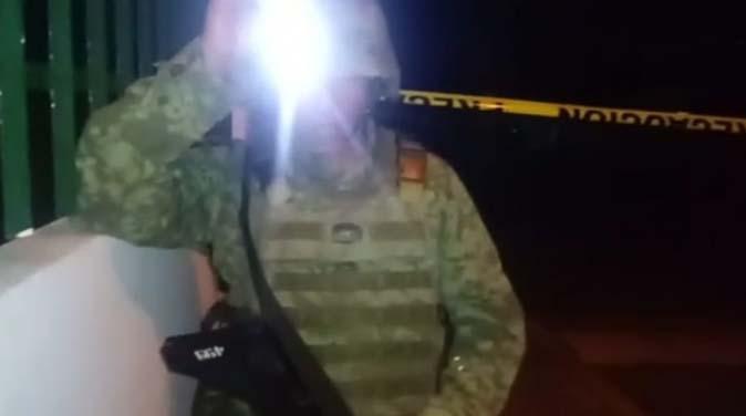 Sedena se enfrenta en balacera con sicarios de cartel Jalisco Nueva Generación que llevaban persona secuestrada