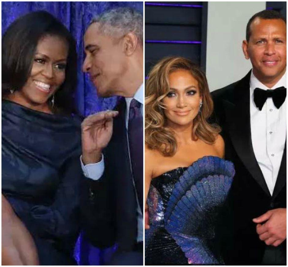 Barack Obama felicita a puño y letra a Alex Rodríguez y a Jennifer López por su compromiso