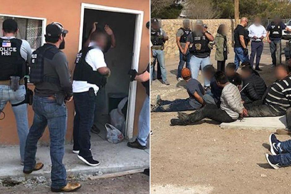 ICE detiene a 54 inmigrantes hacinados en una pequeña vivienda