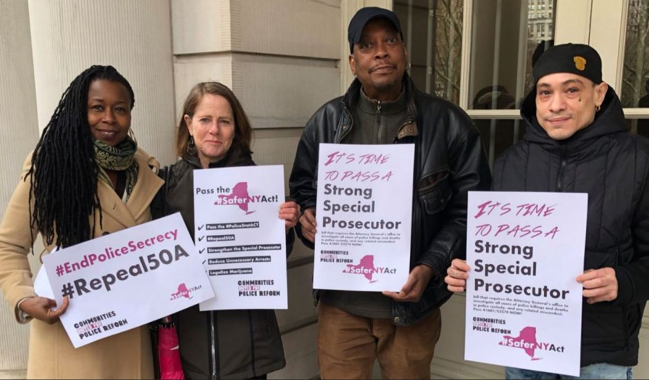 Piden a la Legislatura pasar la 'Safer NY Act' para regular la actividad policial