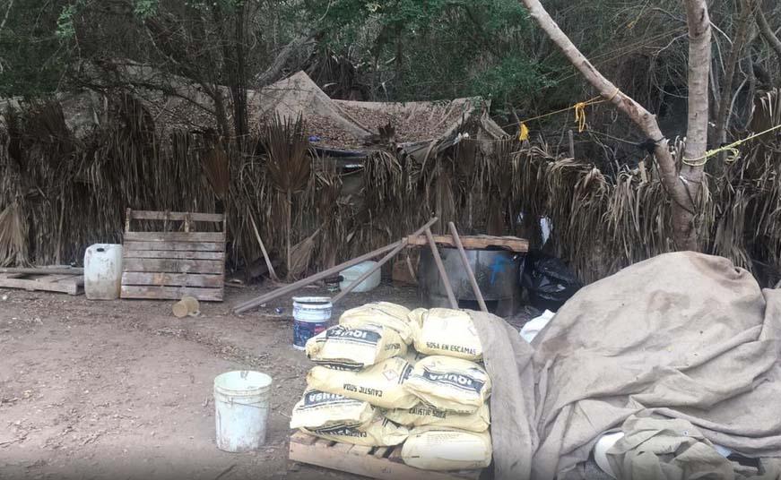 Secretaría de Marina destruye 31 laboratorios de droga del cartel de Sinaloa