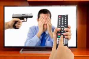 ¿Violencia? ¡Apaga el televisor!