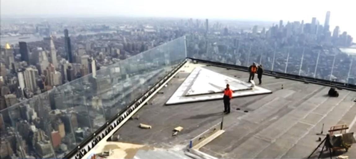 Nueva York tendrá la terraza panorámica más alta del hemisferio, con piso transparente en Hudson Yards