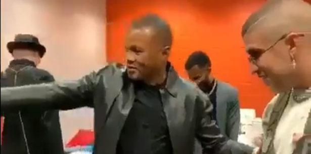 "Exboxeador Felix ""Tito"" Trinidad sorprende a Bad Bunny con tremendo regalo"